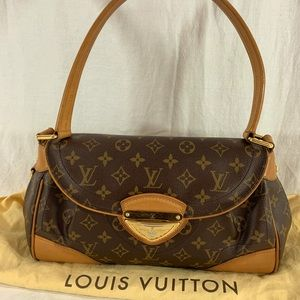 LOUIS VUITTON Beverly MM Made in France M40121
